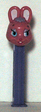 Holiday Pink Bunny Pez Dispenser - TnTCollectibles