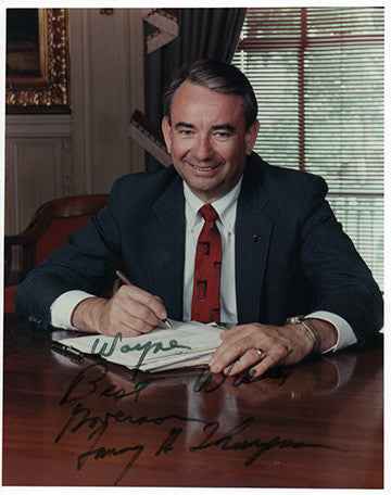 U.S. Secretary of Health Senator Tommy Thompson Autograph Signed Photo - TnTCollectibles