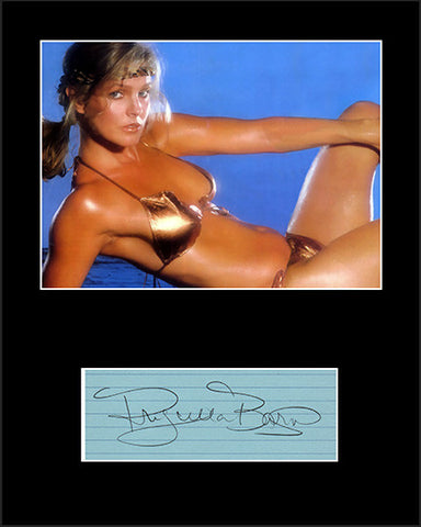 Framed Matted TV Movie Star Priscilla Barnes Hand Signed Autograph and Photo - TnTCollectibles