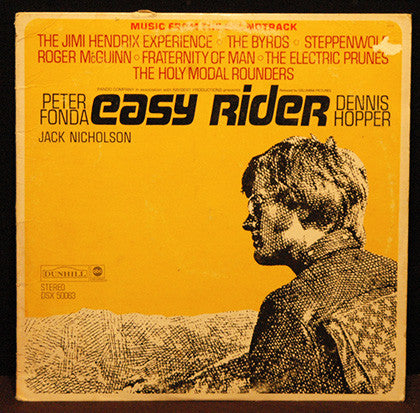 Easy Rider Soundtrack Motorcycle Movie LP Original Vinyl Album Fonda Hopper - TnTCollectibles