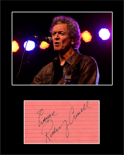 Country Music Star Rodney Crowell Hand Signed Autograph and Photo Framed Matted - TnTCollectibles