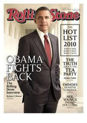 Rolling Stone - Oct 14 2010 President Barack Obama - TnTCollectibles