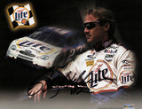 NASCAR Star Rusty Wallace Autographed Hand Signed Miller Lite Photo with Bio - TnTCollectibles - 1