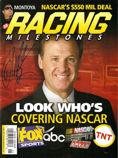 NASCAR Racing Legend Rusty Wallace Autographed Signed Mag - TnTCollectibles