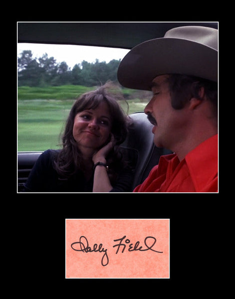 Rare Collectible TV Movie Legend Sally Field Signed Autograph and Photo Framed Matted - TnTCollectibles