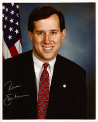 2012 US Presidential Candidate Senator Rick Santorum Autograph Hand Signed Photo - TnTCollectibles