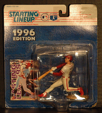 1996 Starting Lineup Will Clark Texas Rangers Action Figure NIP - TnTCollectibles