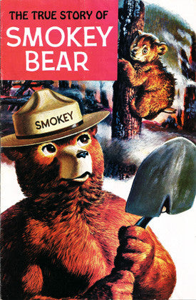 The True Story of Smokey Bear 1969 Comic Book - Western Pub US Forestry Service. - TnTCollectibles - 1