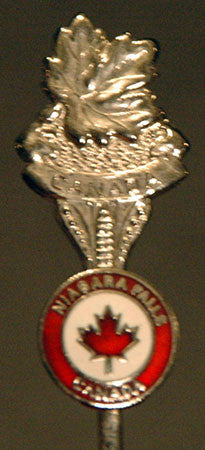 Niagara Falls Canada Collectible Silver Spoon - TnTCollectibles - 1