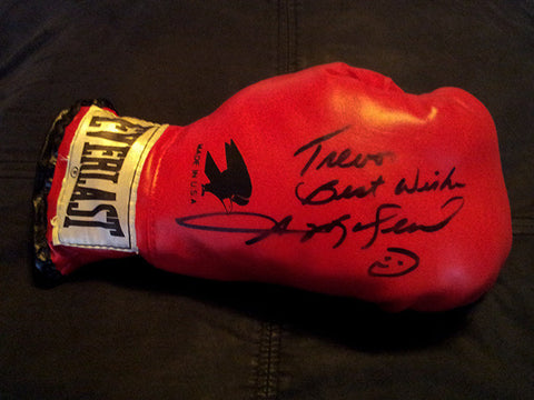 Sugar Ray Leonard Autograph Hand Signed Boxing Glove - TnTCollectibles - 1