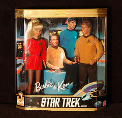 1996 Barbie & Ken Star Trek 30th Anniversary NRFB Collector Edition Gift Set NIB - TnTCollectibles - 1