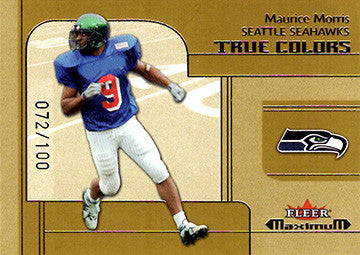 2002 Fleer Maximum #270 Maurice Morris Seattle Seahawks Limited Edition Card SN 72/100 - TnTCollectibles