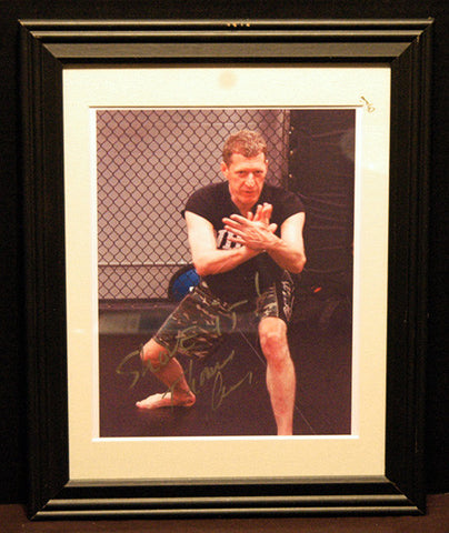 MMA Martial Arts Instructor Thomas Cruse Autograph Hand Signed Framed Photo Seal Team 6 - TnTCollectibles