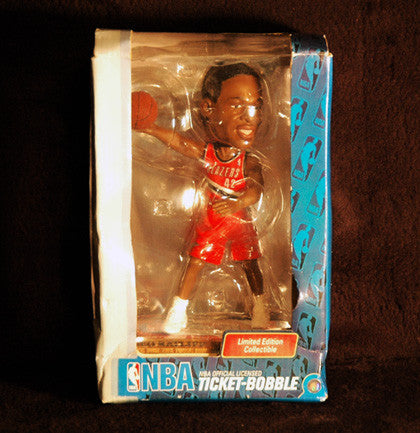 2004 Limited Edition Portland Trailblazers Theo Ratliff Ticket-Bobble Bobblehead - TnTCollectibles