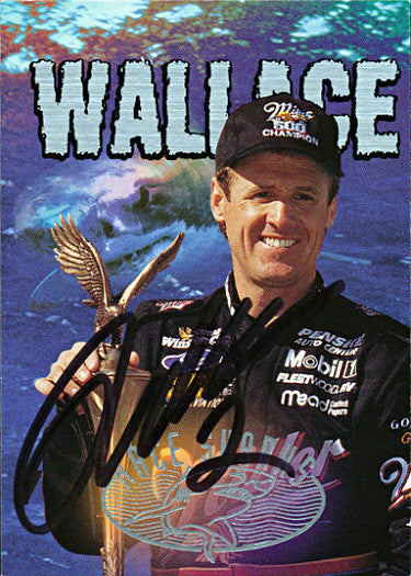 Collectible NASCAR Racing Rusty Wallace Autographed Hand Signed Card - TnTCollectibles