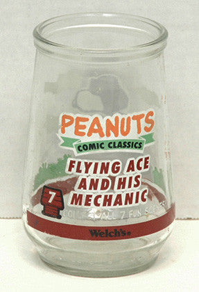 Welch's Grape Jelly Peanuts Snoopy Glass - TnTCollectibles - 2