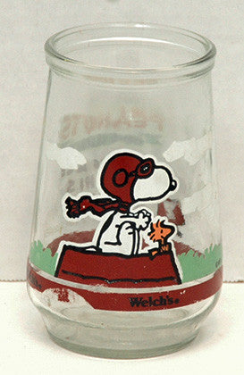 Welch's Grape Jelly Peanuts Snoopy Glass - TnTCollectibles - 1