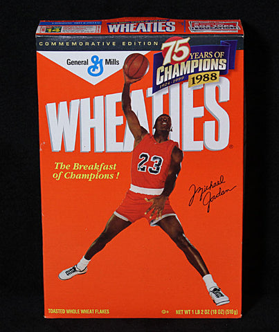 Rare Collectible Limited Edition Michael Jordan Chicago Bulls Sealed Wheaties Cereal - TnTCollectibles - 1