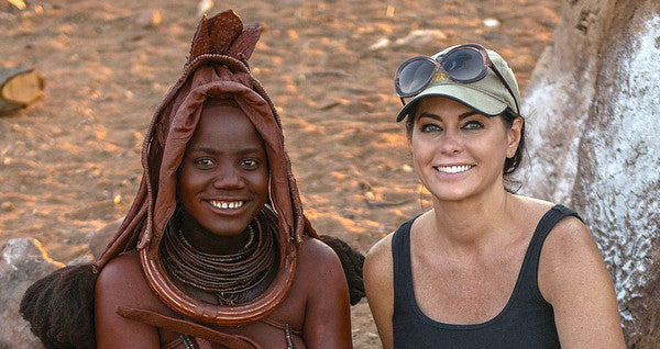 Beauty Secret's Learned with Himba Women in Africa.