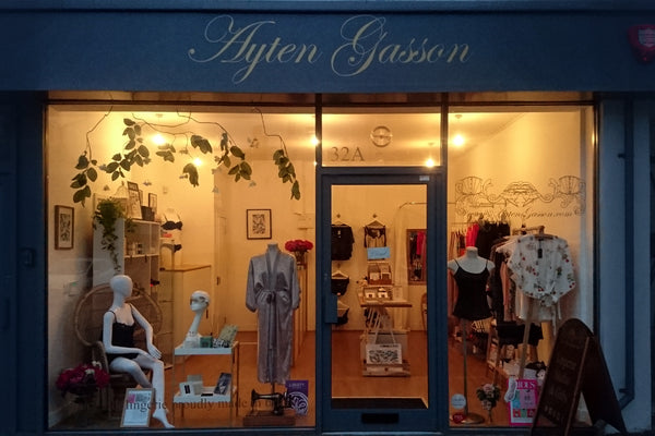 Ayten Gasson Lingerie Shop In Brighton England