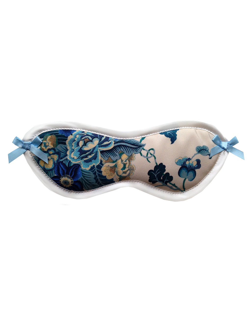 Jennifer Liberty Floral Silk Eyemask by Ayten Gasson