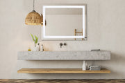 "CASA W48"" x H36"" LED Bathroom Vanity Mirror"