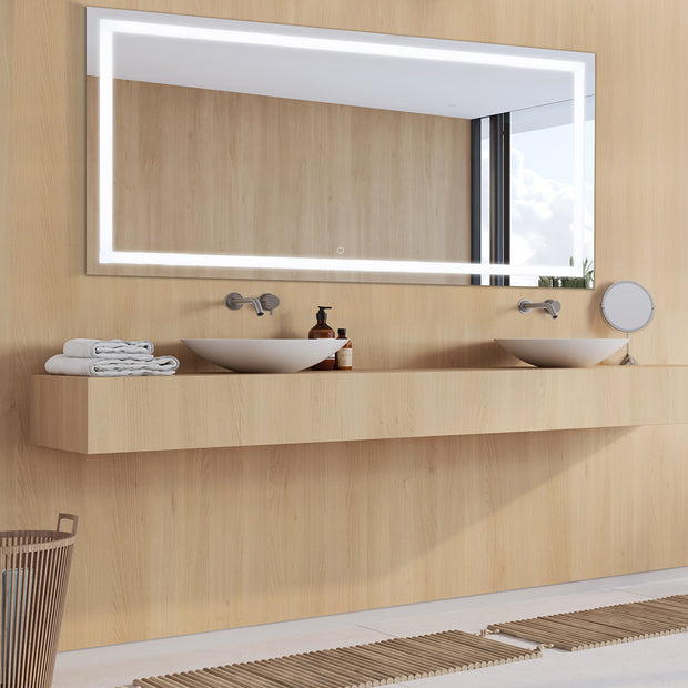 "CASA W70"" x H36"" LED Bathroom Vanity Mirror"