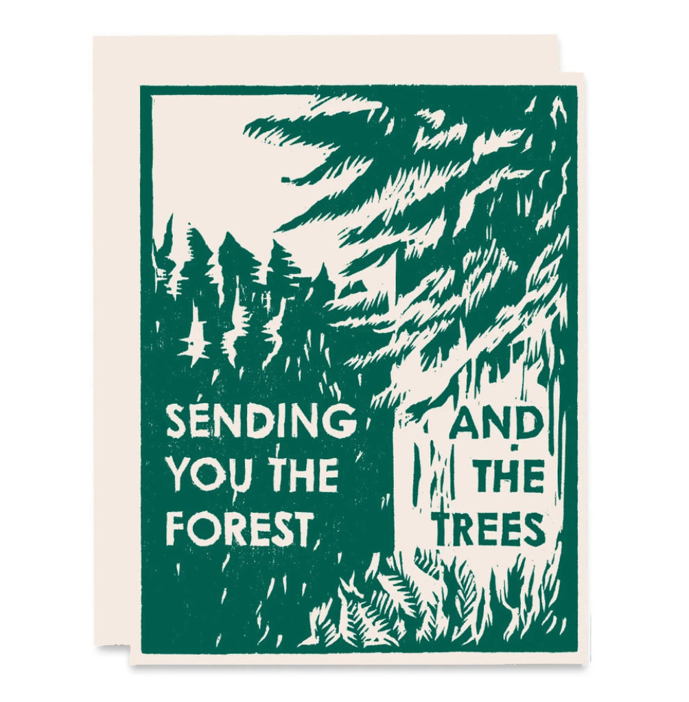 Forest and Trees Card