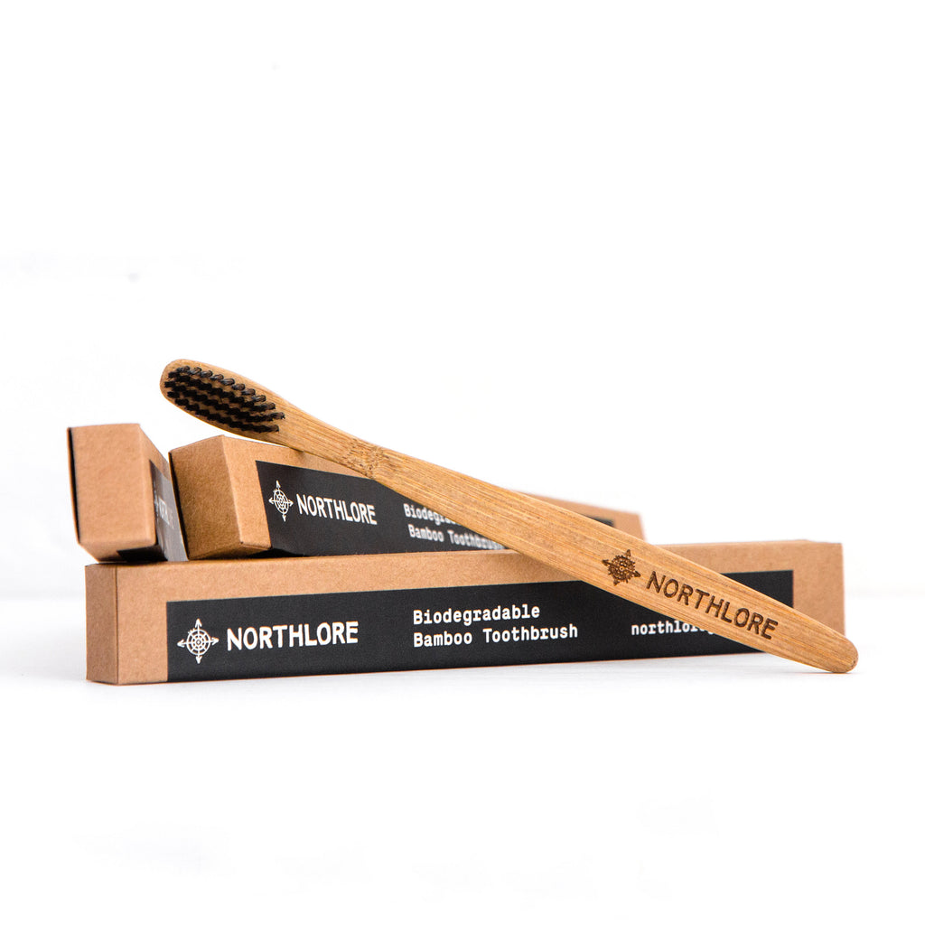 Biodegradable Bamboo Toothbrush - Northlore