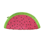 Handwoven Watermelon Clutch