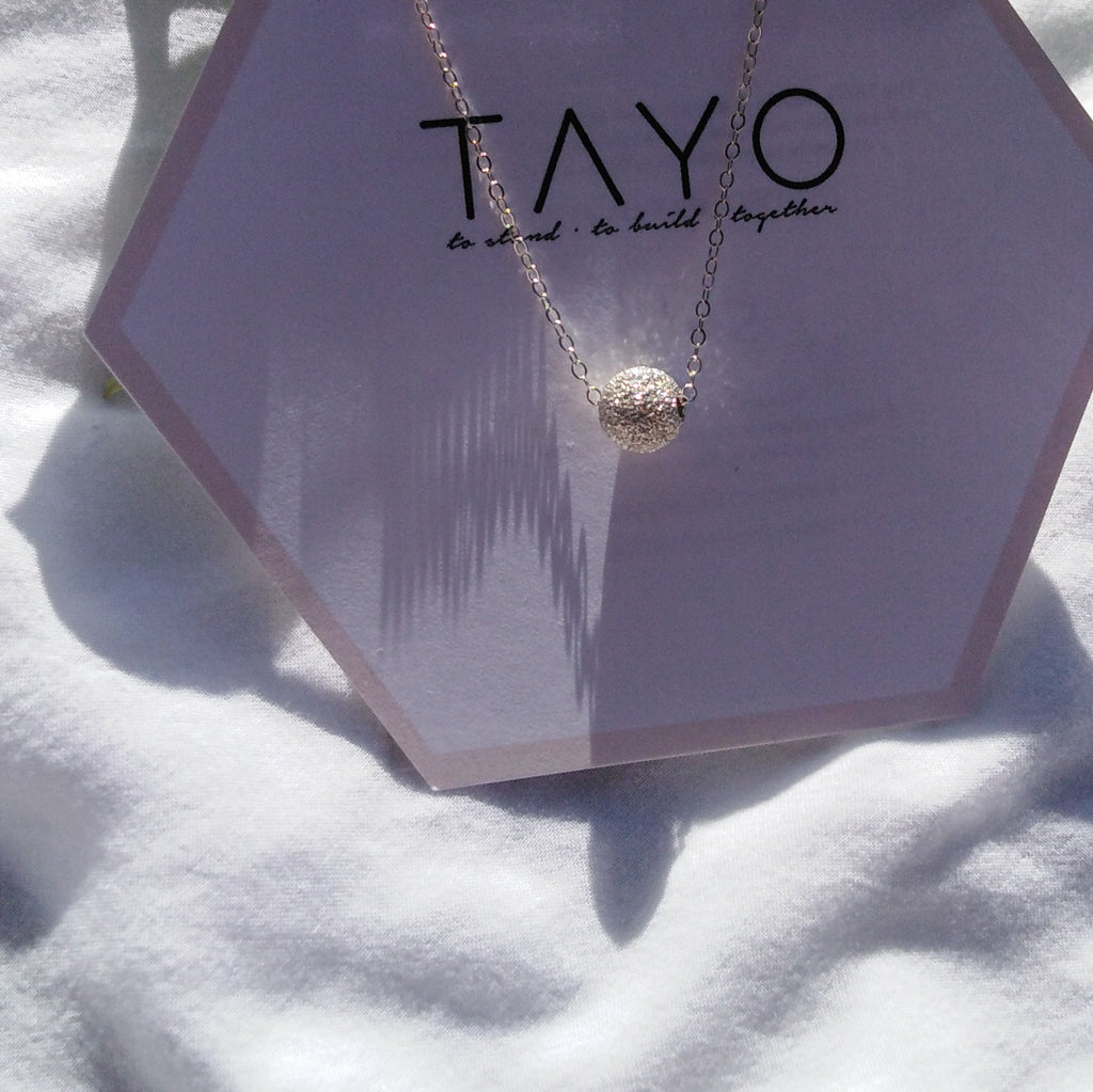 Tala Silver Necklace