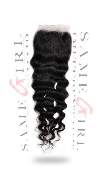SameGirlDifferentHair VERSATILE LACE CLOSURE!
