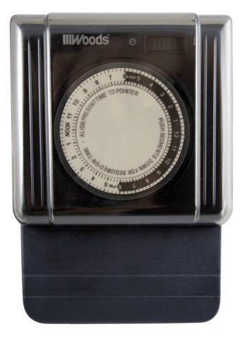Woods 59382 15-Amp 3-Prong Outdoor Heavy Duty Timer