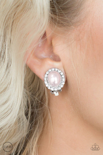 Romantically Regal - Pink Clip-On