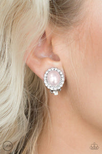 Romantically Regal - Pink Clip-On - Jewels N' Thingz Boutique