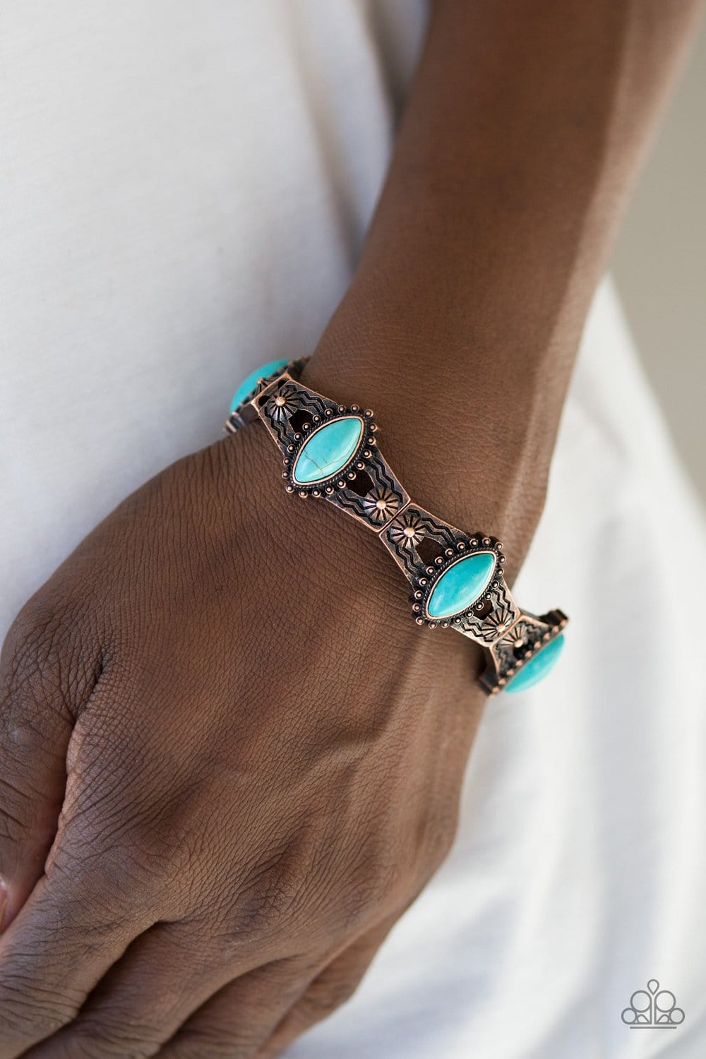Majestic Deserts - Copper: Paparazzi Accessories - Jewels N' Thingz Boutique