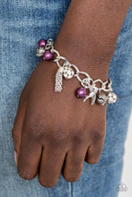 Load image into Gallery viewer, Paparazzi: Lady Love Dove - Purple Bracelet