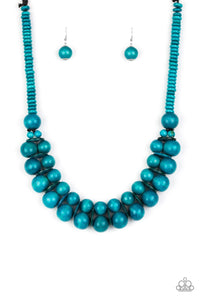 Caribbean Cover Girl - Turquoise: Paparazzi Accessories