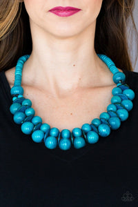 Caribbean Cover Girl - Turquoise: Paparazzi Accessories - Jewels N' Thingz Boutique