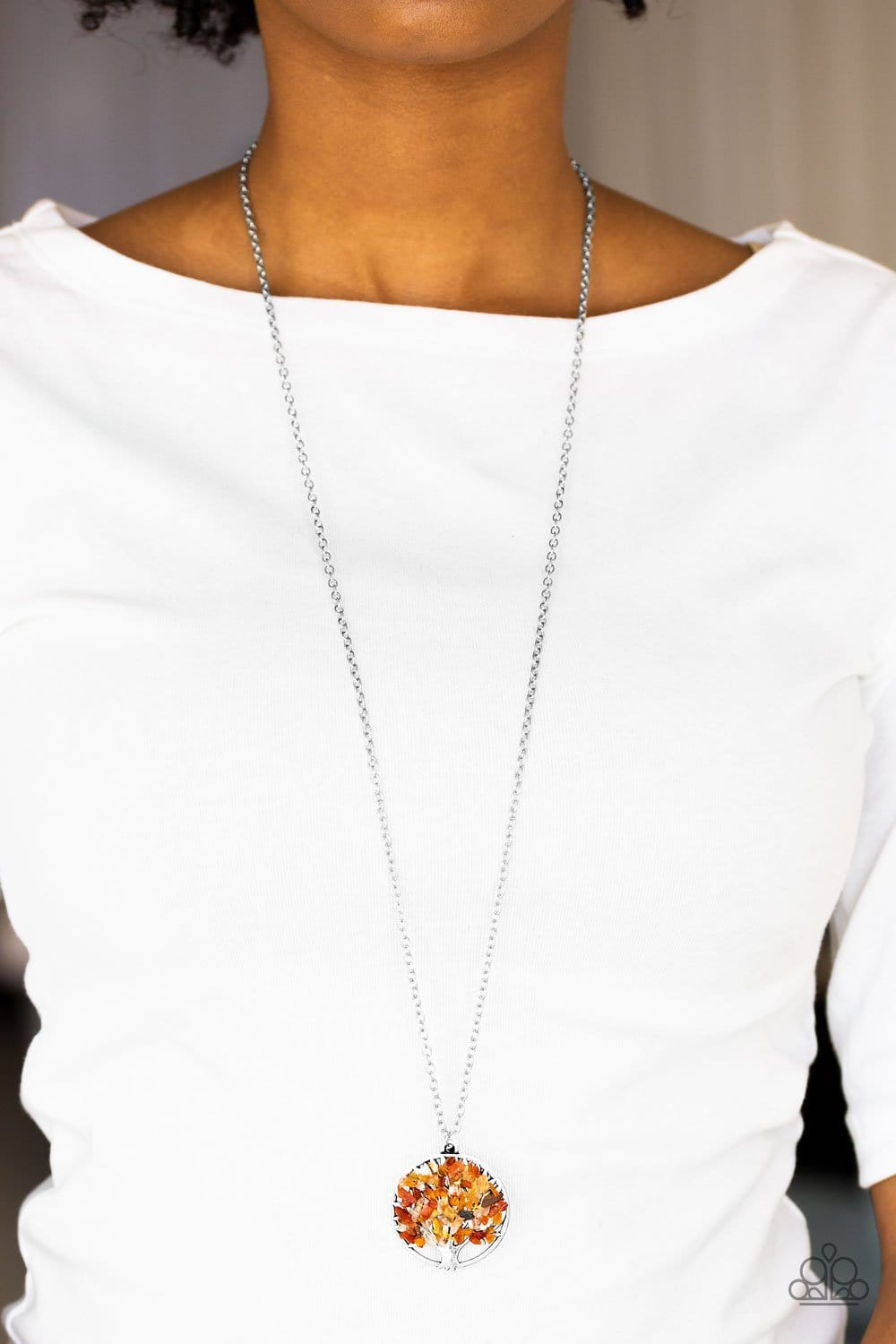 Naturally Nirvana - Orange: Paparazzi Accessories - Jewels N' Thingz Boutique