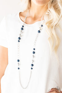 Uptown Talker - Blue: Paparazzi Accessories - Jewels N' Thingz Boutique