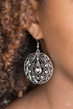 Load image into Gallery viewer, Paparazzi: Choose To Sparkle - White Rhinestone Earrings - Jewels N' Thingz Boutique