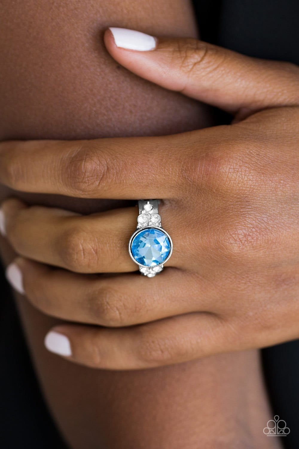 Poshly Pampered - Blue: Paparazzi Accessories - Jewels N' Thingz Boutique