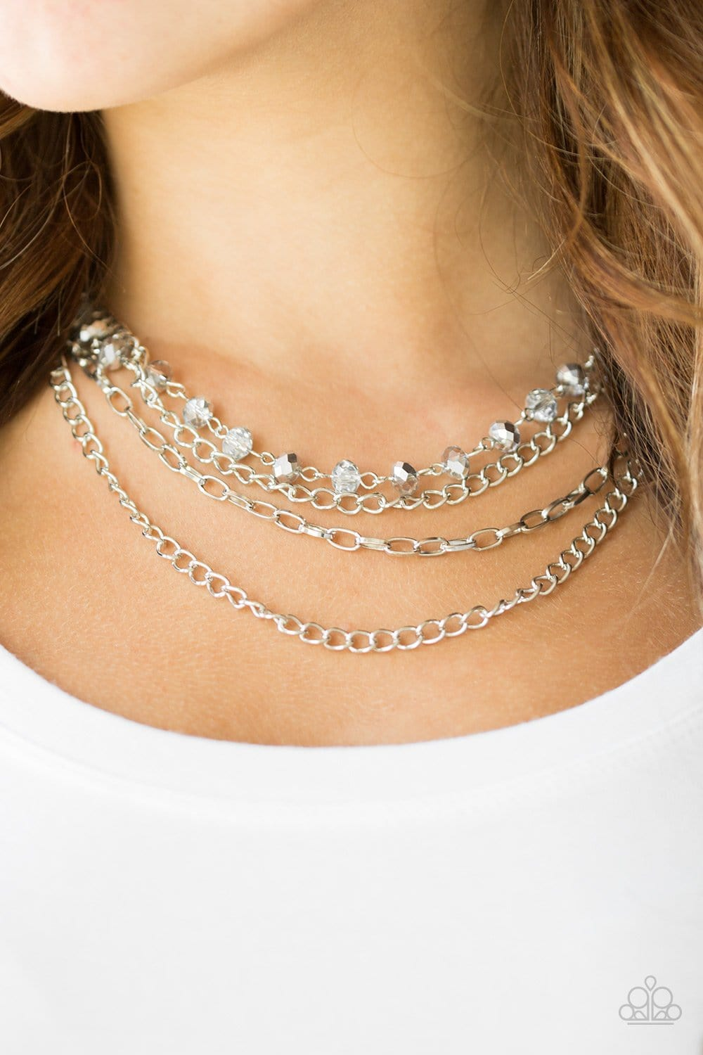 Extravagant Elegance - Silver - Jewels N' Thingz Boutique