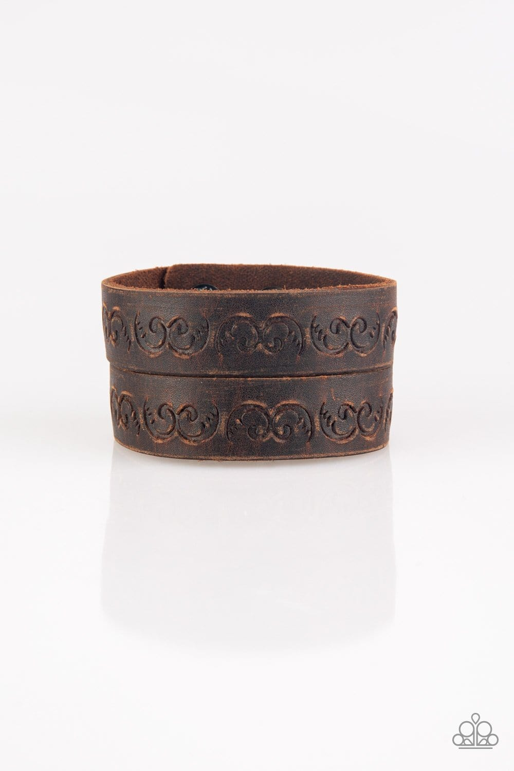 Paparazzi: Ride and Wrangle - Brown Bracelet