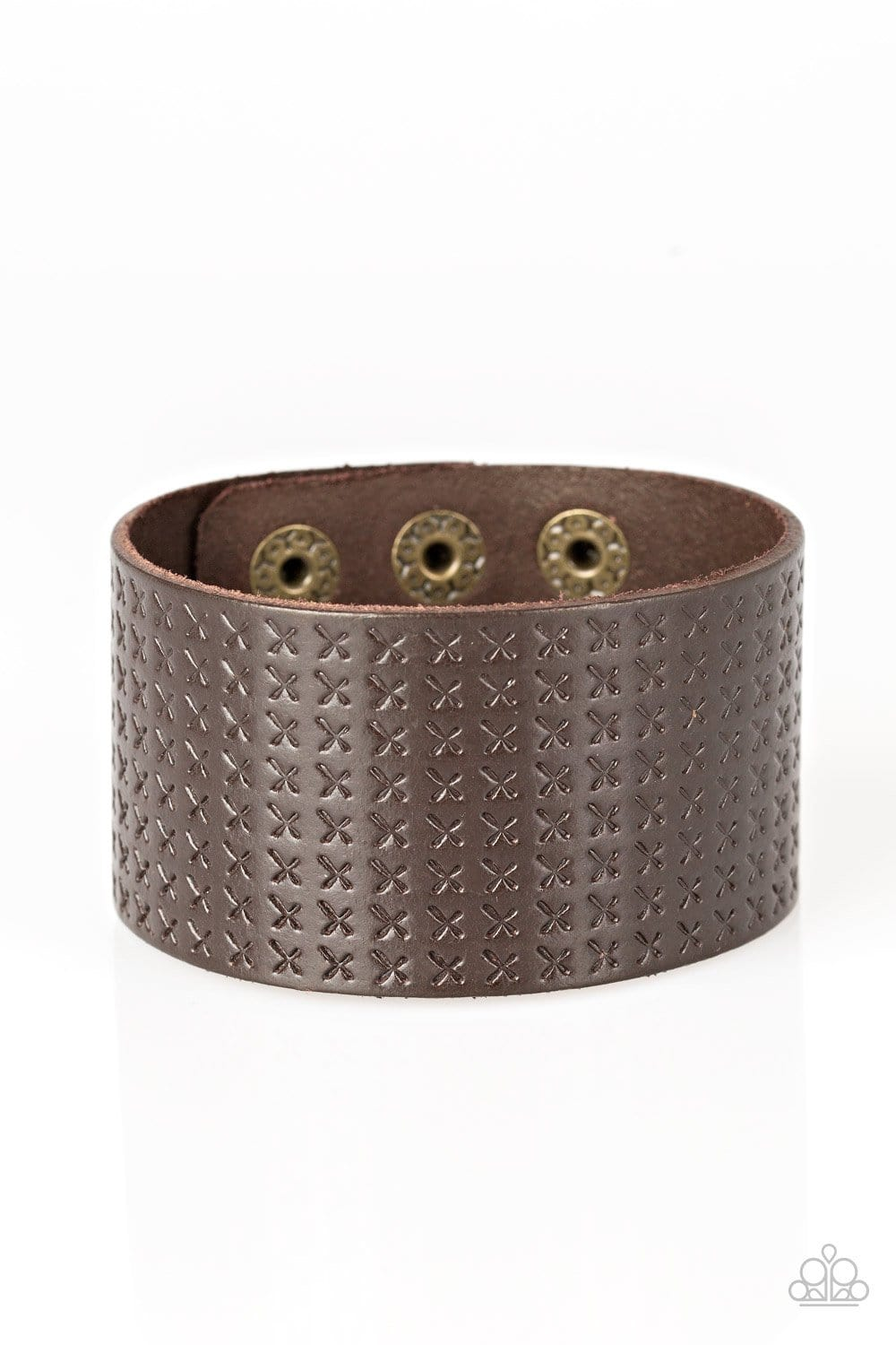 Paparazzi: Wild Wrangler - Brown Bracelet - Jewels N' Thingz Boutique