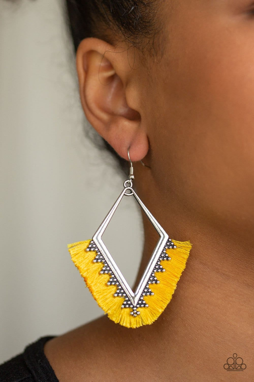 When In Peru - Yellow: Paparazzi Accessories - Jewels N' Thingz Boutique