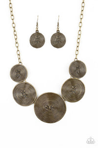 Paparazzi: Deserves A Medal - Brass Necklace - Jewels N' Thingz Boutique