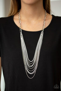 Paparazzi: Rebel Rainbow - White Long Necklace - Jewels N' Thingz Boutique