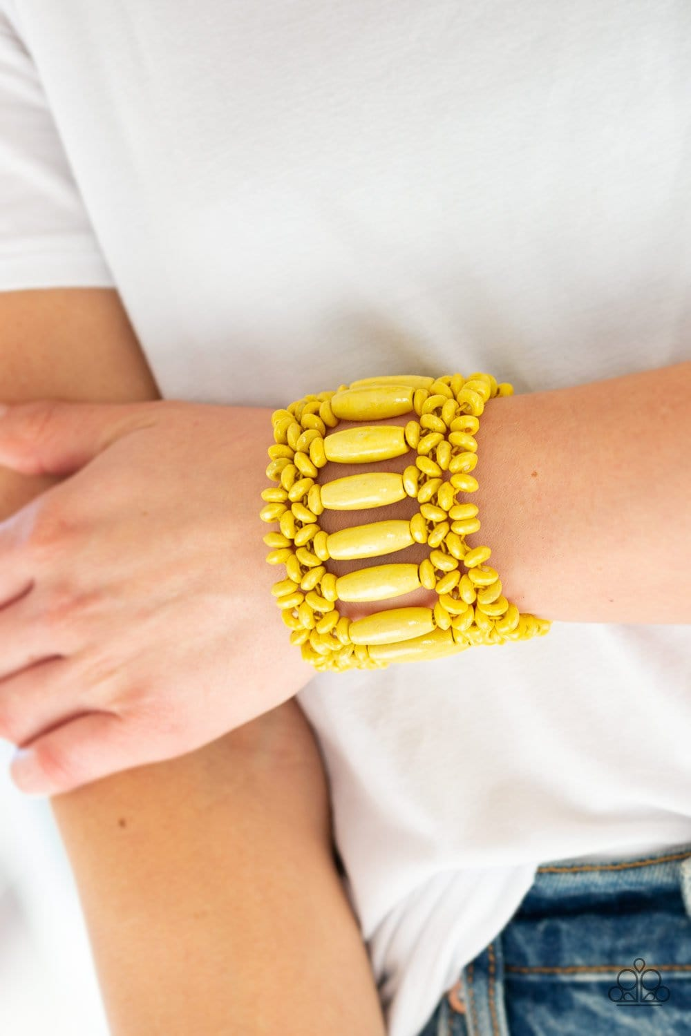 Barbados Beach Club - Yellow: Paparazzi Accessories - Jewels N' Thingz Boutique